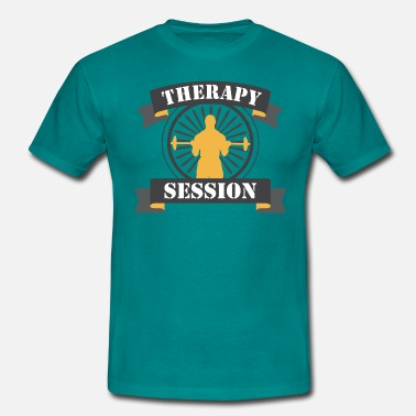 pumpen therapy session - Männer T-Shirt