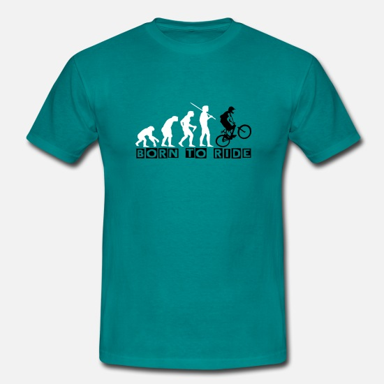 Born To Ride T-Shirts - BORN TO RIDE - Männer T-Shirt Divablau