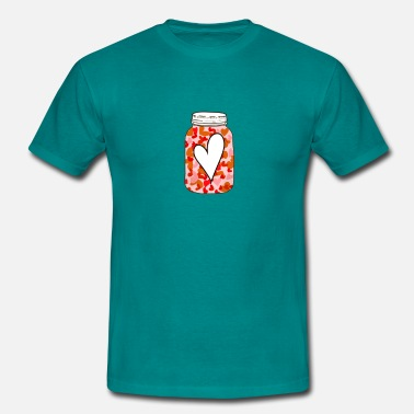 Heart box - Men's T-Shirt