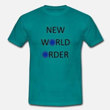 New World Order New World Order - Men's T-Shirt