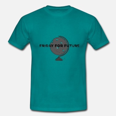 Carbon Dioxide FRIDAY FOR FUTURE STOP CLIMATE CHANGE - Men's T-Shirt