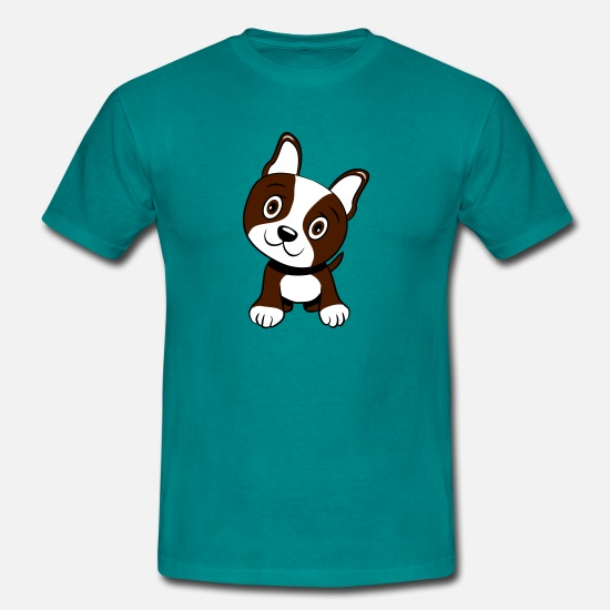 Baby T-Shirts - Dogs baby witty sweet - Men's T-Shirt diva blue