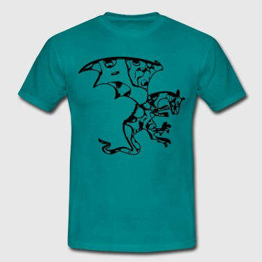 Dragon symbol cool - Men's T-Shirt