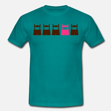 Homo Feiern be different gay schwul kerl homo cool design 5 ho - Männer T-Shirt