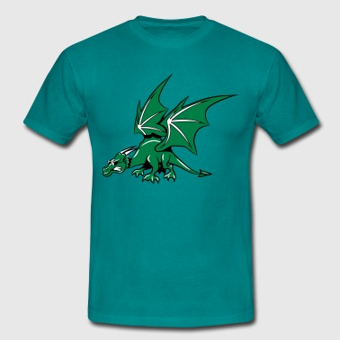 Dragon wings fairy sunglasses - Men's T-Shirt
