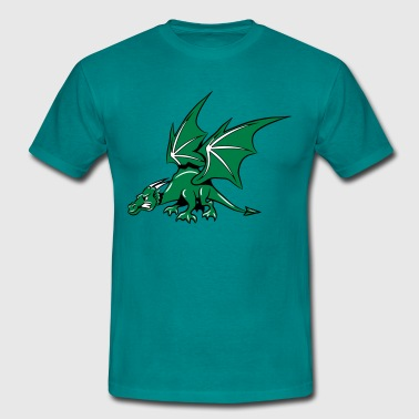 Dragon wings fairy - Men's T-Shirt