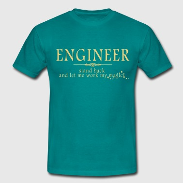 Engineer - Stand Back! - Men's T-Shirt
