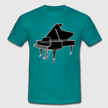 PIANO 2 - T-shirt Homme
