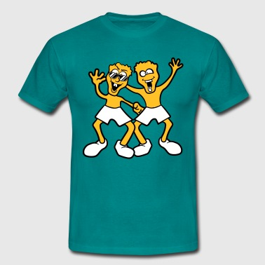 Friends dance team fun pals - Men's T-Shirt