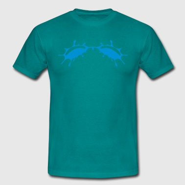 blobs blot - Men's T-Shirt