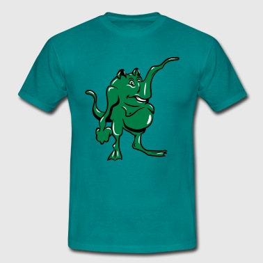 Monster grappige slurf - Mannen T-shirt