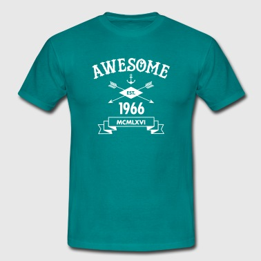 Awesome Est. 1966 - T-shirt Homme