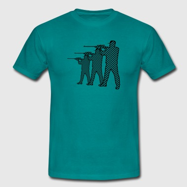 Shooting - Men's T-Shirt