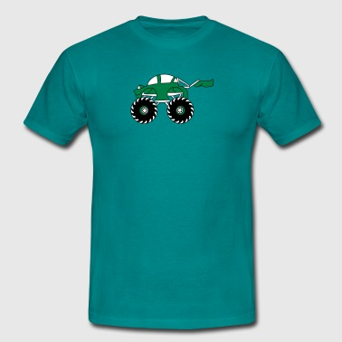 sweet coole sneller monstertruck - Mannen T-shirt