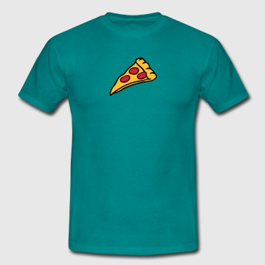conception Pizza salami fromage - T-shirt Homme
