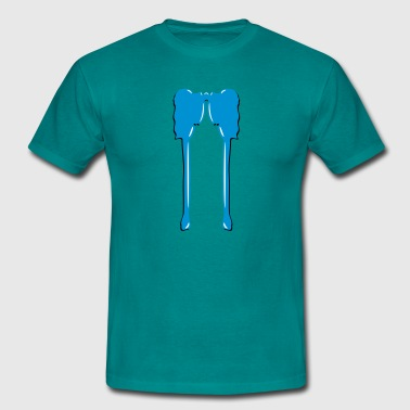 drop klatter - Herre-T-shirt