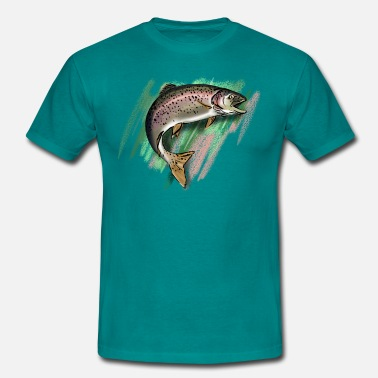 Trout Trout - Men's T-Shirt