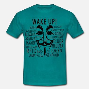 Chemtrails Wake up - Chemtrails usw - Männer T-Shirt