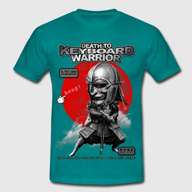 KEYBOARD WARRIOR - Mannen T-shirt