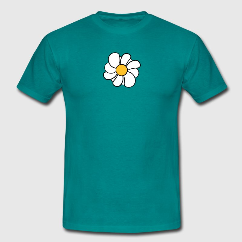 daisy flower buttercup daisy beautiful - Men's T-Shirt