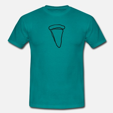 Margherita Pizza margherita piece of cheese design - Men's T-Shirt