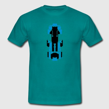 board technology line connection microchip datente T-Shirts - Men's T-Shirt