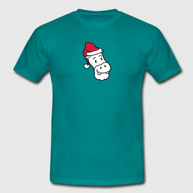 Niche father christmas santa claus hat winter gifts nich - Men's T-Shirt