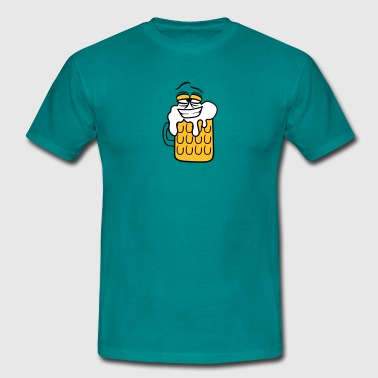 Durst Comic cool lustig gesicht lebendig comic cartoon durst l - Männer T-Shirt