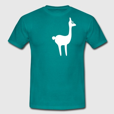 lama for dark backgrounds - T-shirt Homme