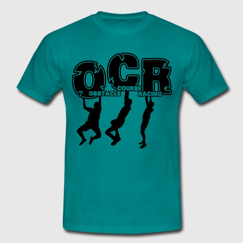 OCR - Obstacle Course Racing Monkey Bars  - Männer T-Shirt