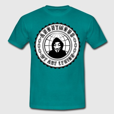 anonymous we are legion - T-shirt Homme
