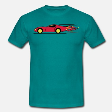 Monster Race Race Car Racing race racing - Men's T-Shirt