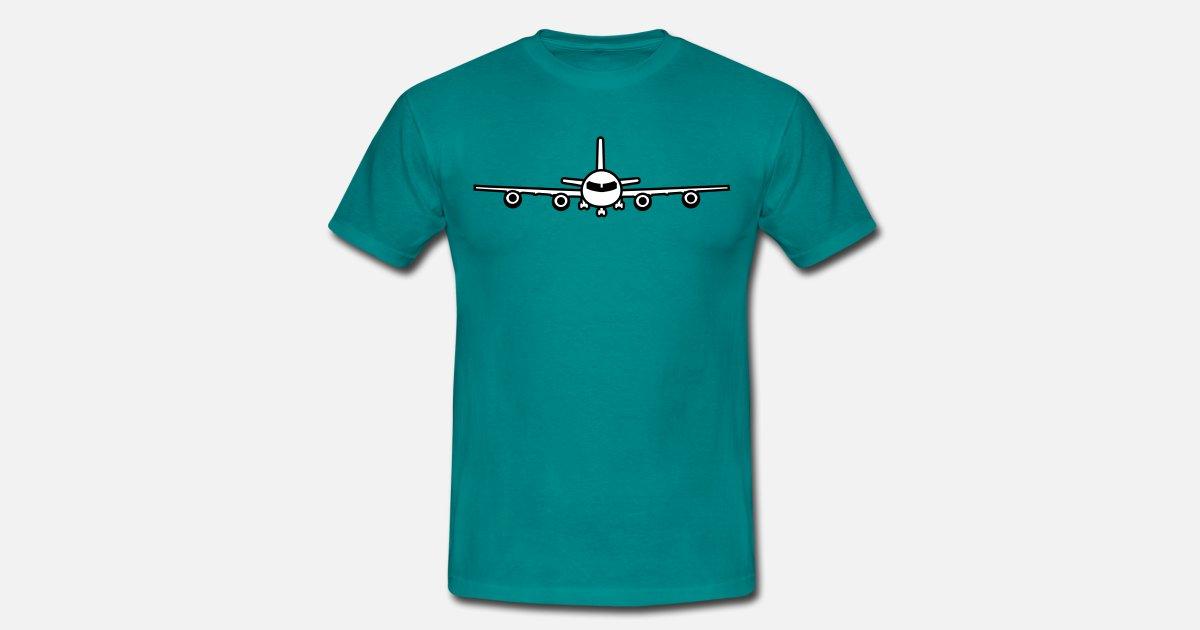flugzeug landung fahrwerk abheben von Style-o-Mat-Shirts | Spreadshirt
