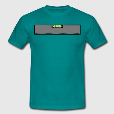 Measure Measure renovate level ruler measure measure measu - Men's T-Shirt