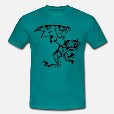 Cool Symbol Dragon symbol cool - Men's T-Shirt