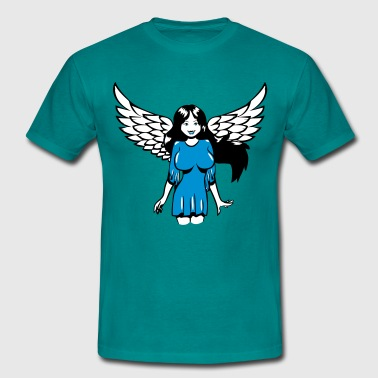 Angel Wings Angel wings sexy comic - Men's T-Shirt