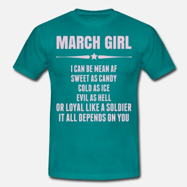 March Girl Super March Girl - Men's T-Shirt