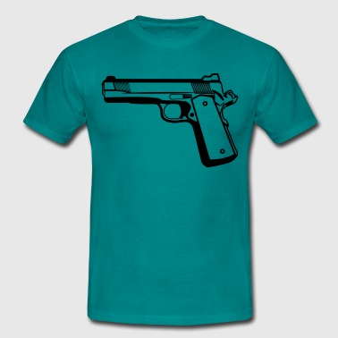 Shoot gun weapons - Men's T-Shirt