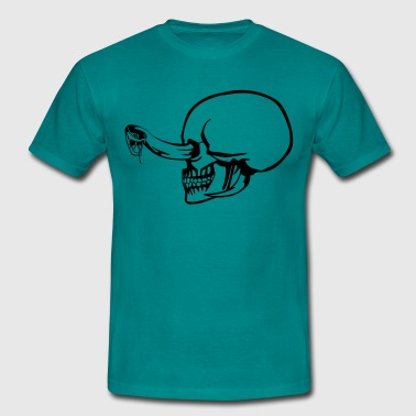 Snake Eyes Snake eye Skull - T-shirt Homme