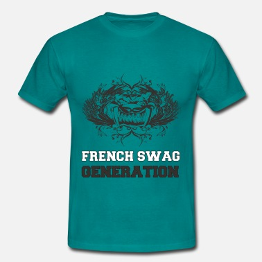 Drapeau Swag France French swag generation NB - T-shirt Homme