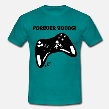 Forever Young Forever Young Gamer - Camiseta hombre