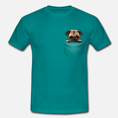 Pocket Dogs POCKET DOG - Men's T-Shirt