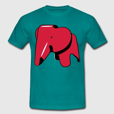 Elephant Tin - Men's T-Shirt