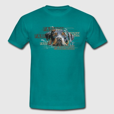 fashion-rottweiler-dog-an - Herre-T-shirt