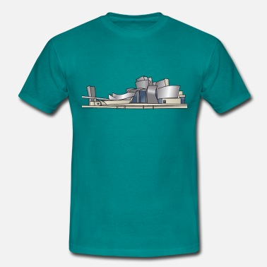 Contemporary-art Guggenheim Museum of Bilbao c - Men's T-Shirt
