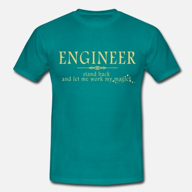 Gas Engineer - Stand Back! - Men's T-Shirt