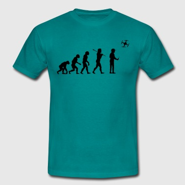 The drone evolution - Men's T-Shirt