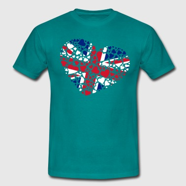 heart United Kingdom - T-shirt Homme
