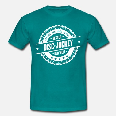 Disc Jockey Bester Disc-Jockey - Männer T-Shirt