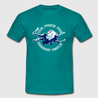 X-wing Ordinary Blue - Männer T-Shirt